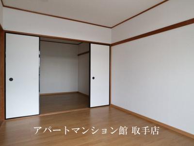 【寝室】おおつきシティハイツ
