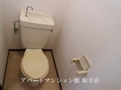 【トイレ】おおつきシティハイツ