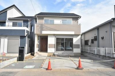 鴻巣市氷川町-新築戸建2号棟、完成しました!内覧できます。