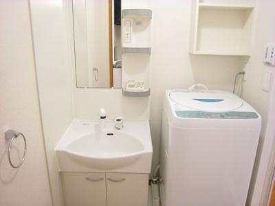 洗濯機※同タイプ室内