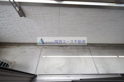 【バルコニー】K's Residence瓢箪山