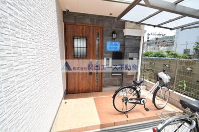 【エントランス】K's Residence瓢箪山