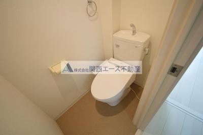 【トイレ】K's Residence瓢箪山