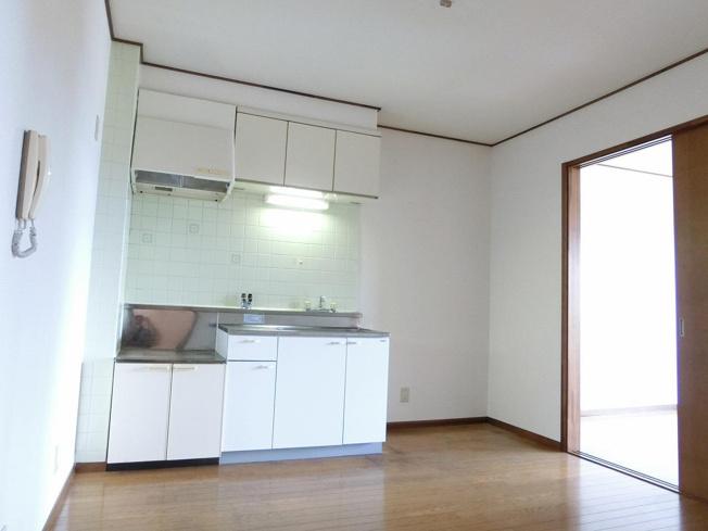 ハイツエバーグリーン キッチン