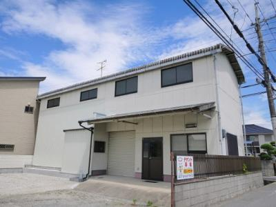 【外観】神殿町事務所倉庫