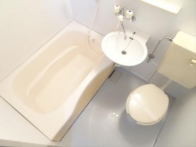 【浴室】クエットコーポ