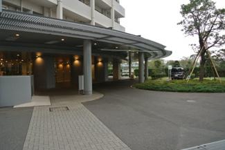アップルタワー東京キャナルコート 車寄せ