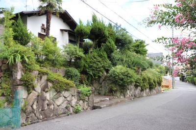 【外観】芦屋市岩園町建築条件なし土地