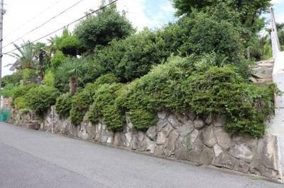 【展望】芦屋市岩園町建築条件なし土地