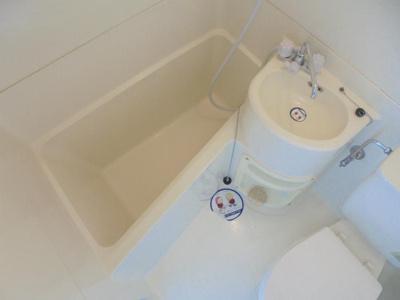 【浴室】グランドハイツ湯里