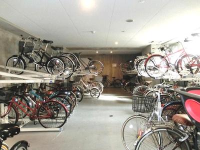 プロスペクトKALON三ノ輪の駐輪場です
