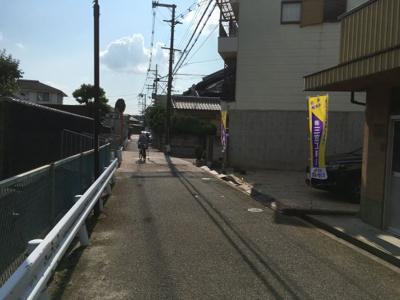 【前面道路含む現地写真】サンタウン渚元町