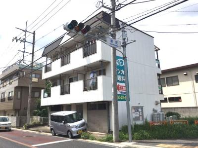 賃貸マンションの1階です。