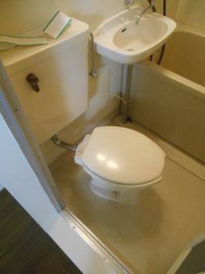 【トイレ】ウエストコーポラス