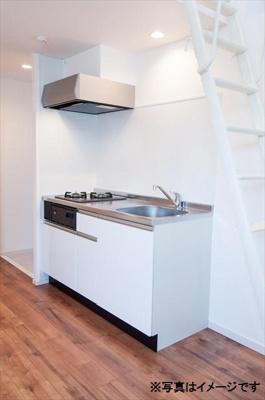 SQUARE Iのキッチンイメージ