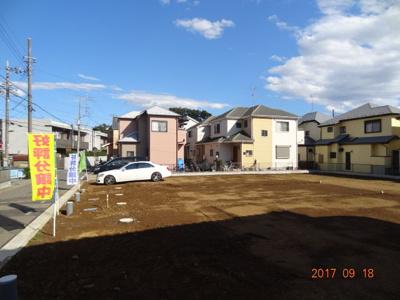 【外観】さいたま市緑区三室 売地広々42坪以上 全4区画