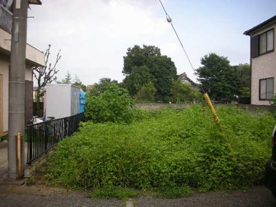 【外観】熊谷市石原 370万 土地