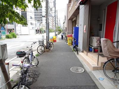 松本事務所 物件前