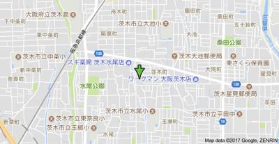 【地図】ルミエール並木