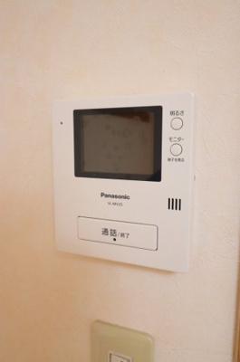 TVモニターホ※写真は105号室を使用
