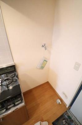 室内洗濯機置場※写真は105号室を使用