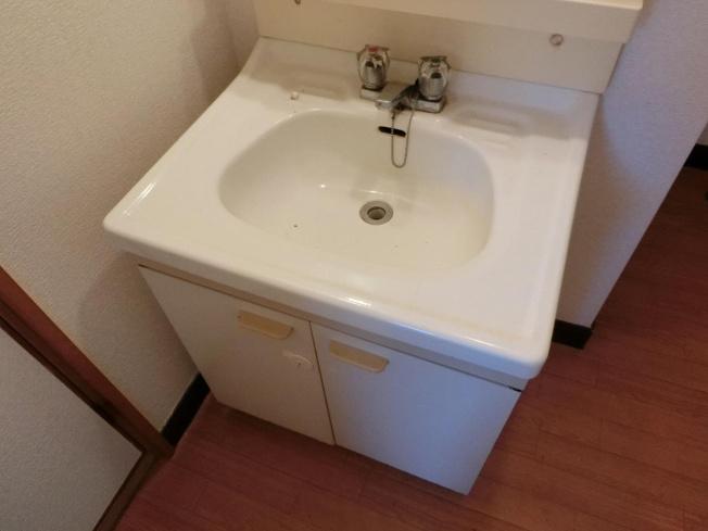 和田マンション 洗面台