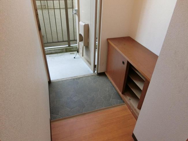 和田マンション 玄関