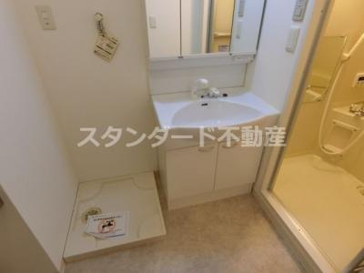 【洗面所】ニューシティアパートメンツ西天満
