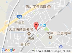 【地図】メゾン ド・U唐崎