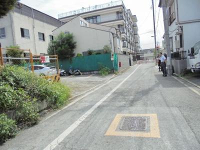 【前面道路含む現地写真】墨田売地
