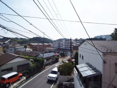 建物からの眺望です。