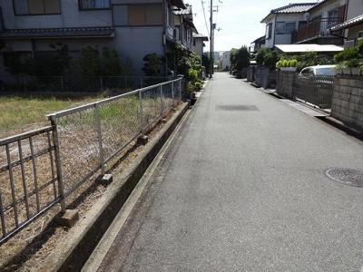 【前面道路含む現地写真】神明町土地