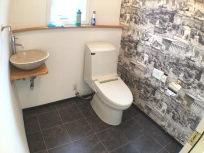 【トイレ】福知山市三和町莵原中古住宅