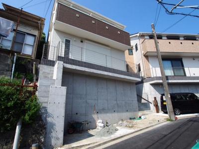 【外観】保土ヶ谷区峰岡町2丁目全2棟 新築戸建て