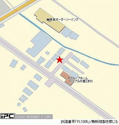 【地図】コーポラスタカラB