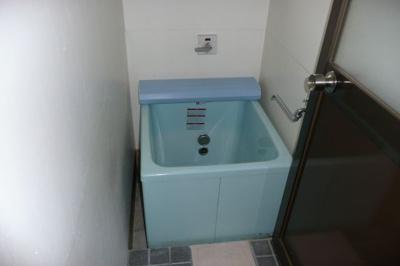 【浴室】坂本貸家2K