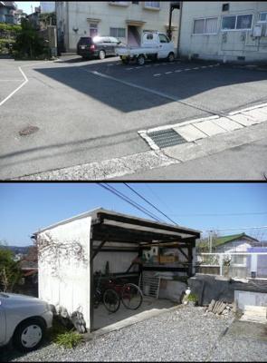【駐車場】ハイツ上野