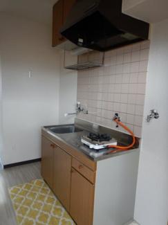 岡山市北区平野 ネクストⅢ 1K キッチン