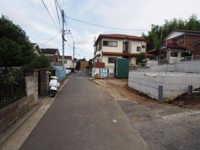 【前面道路含む現地写真】保土ヶ谷区今井町 新築戸建て