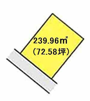 【区画図】【売地】明和中学校区・120160