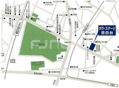 【地図】ガラ・ステージ目白台