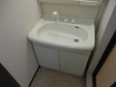 エーデルハイムABCの洗面台
