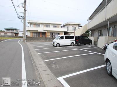【駐車場】ハイツレーベン
