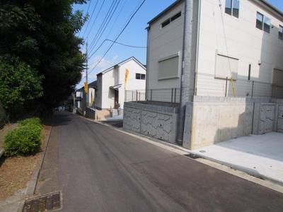 【前面道路含む現地写真】保土ヶ谷区上菅田町全20棟 新築戸建て