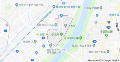【地図】柱本ハイツ (株)Roots