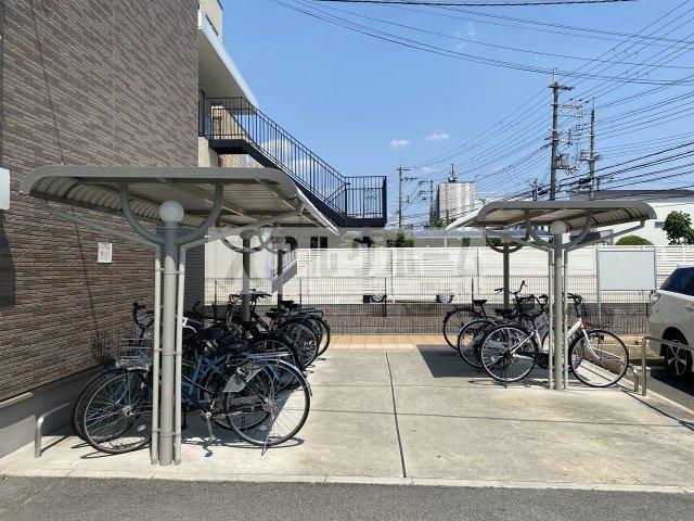 プレジール 玄関