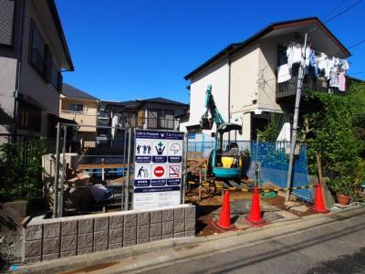 【外観】保土ヶ谷区権太坂1丁目 新築戸建て