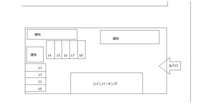 【区画図】№102駐車場