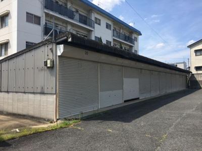 【外観】シャンポール大安寺ガレージ