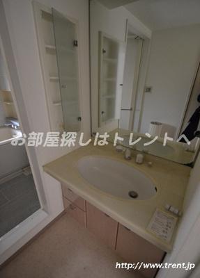 【独立洗面台】東急ドエルプレステージ参宮橋